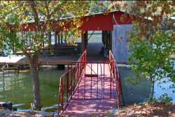 Dock on White                                 River-Cotter Trout Dock-Arkansas