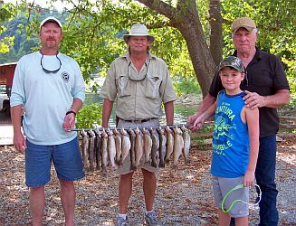Rainbows-White River-Arkansas-CotterTrout Dock